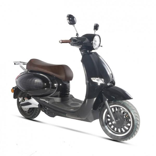 Scooter électrique E-QUIP noir (Equivalent 50cc) Wayscral