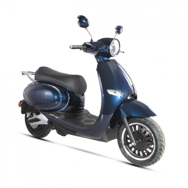 Scooter électrique E-QUIP bleu (Equivalent 50cc) Wayscral