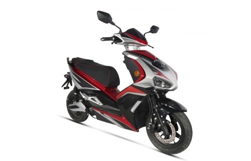 Scooter électrique E-Speed rouge (Equivalent 125cc) Wayscral