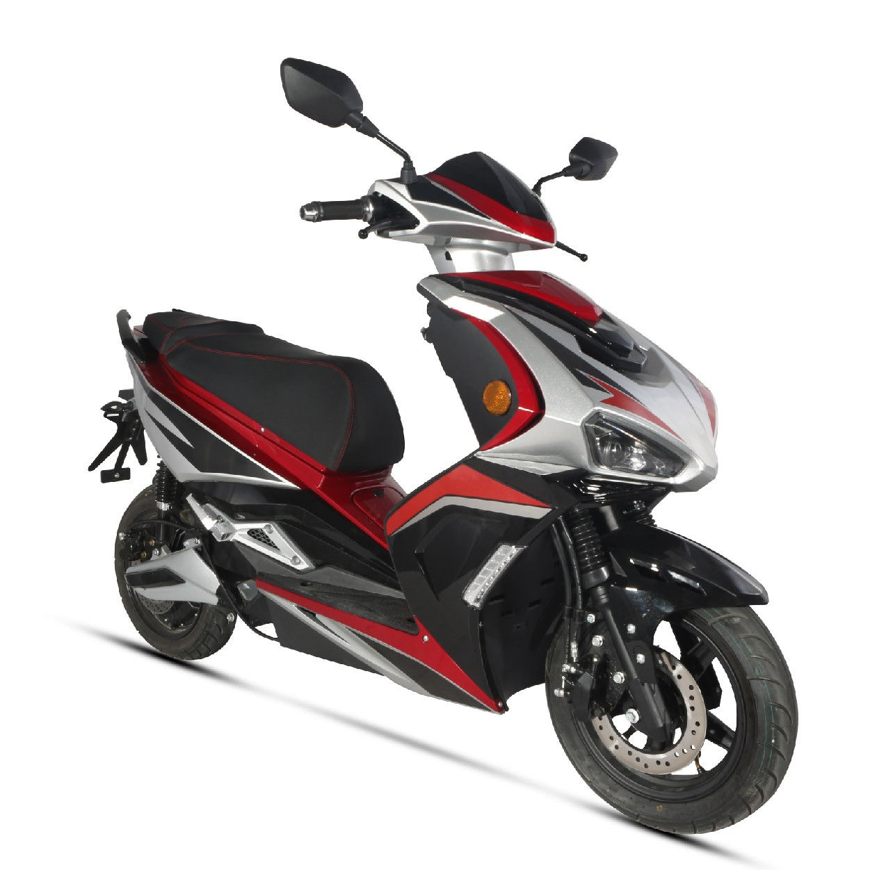 Scooter électrique E-Speed rouge (Equivalent 125cc) Wayscral