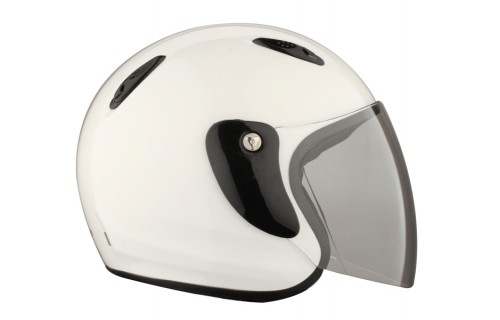 Casque jet 601 blanc brillant XS RIDE