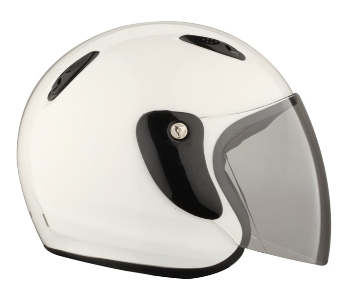Casque jet 601 blanc brillant RIDE