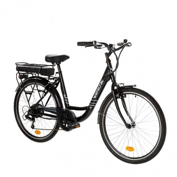 """Vélo de ville électrique Everyway E50 noir 26"""" Wayscral"""