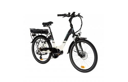 """Vélo de ville électrique Everyway E300 noir 24"""" Wayscral"""