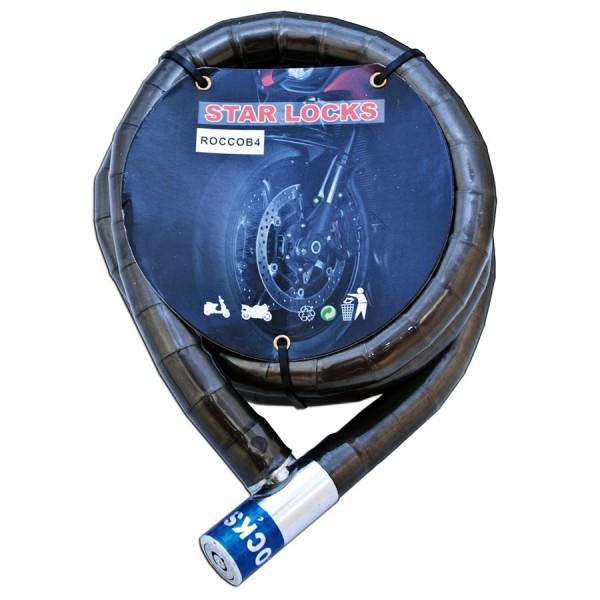 Antivol Ride câble articulé pour moto 150cm
