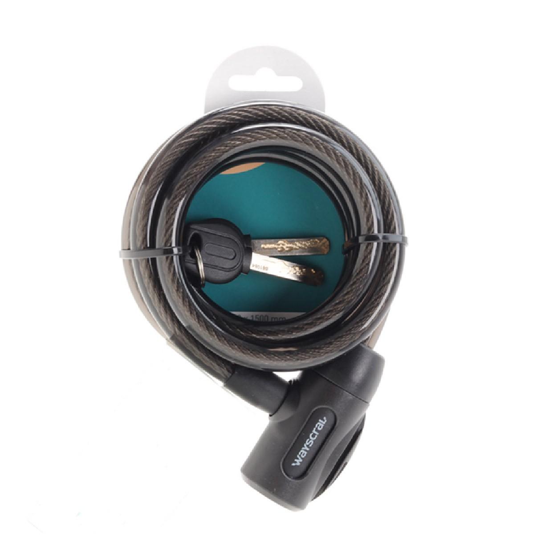 Antivol Wayscral spirale câble pour vélo 12x1500mm