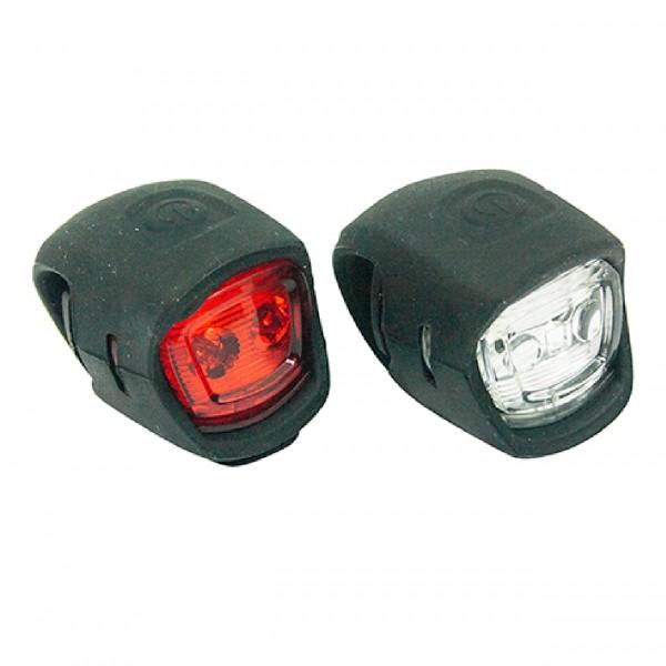 Eclairage Mini LED avant/arrière pour Vélo par Wayscral