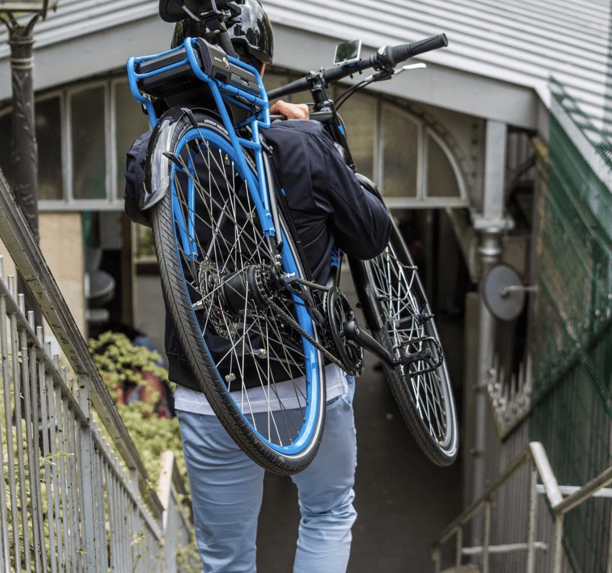 Un vélo ville léger, électrique et innovant